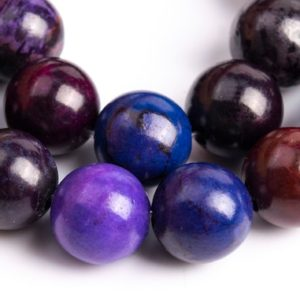 Shop Sugilite Beads! 44 / 22 Pcs – 8MM  Sugilite Purple Color Jasper Beads Grade A Natural Round Gemstone Loose Beads (111828) | Natural genuine round Sugilite beads for beading and jewelry making.  #jewelry #beads #beadedjewelry #diyjewelry #jewelrymaking #beadstore #beading #affiliate #ad