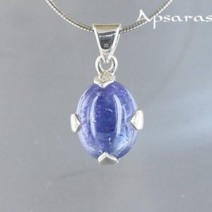 Shop Tanzanite Pendants! Tanzanite pendant, sterling silver 925, natural stone, blue stone, one of a kind, made by hand, quality made jewelry, | Natural genuine Tanzanite pendants. Buy crystal jewelry, handmade handcrafted artisan jewelry for women.  Unique handmade gift ideas. #jewelry #beadedpendants #beadedjewelry #gift #shopping #handmadejewelry #fashion #style #product #pendants #affiliate #ad