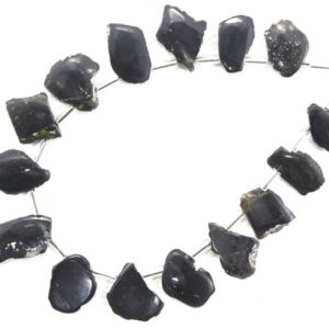 Shop Tourmaline Chip & Nugget Beads! Rough Sale 15 Pieces Natural Tourmaline Gemstone,Uneven Shape Rough,Size 6×10-8×12 MM Polished Raw,Making Tourmaline Jewelry Wholesale Price | Natural genuine chip Tourmaline beads for beading and jewelry making.  #jewelry #beads #beadedjewelry #diyjewelry #jewelrymaking #beadstore #beading #affiliate #ad