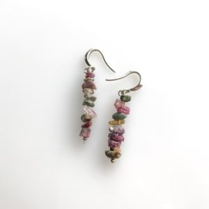 Shop Tourmaline Earrings! Raw Tourmaline Earrings, October Birthstone Raw Crystal Earrings, self confidence | Natural genuine Tourmaline earrings. Buy crystal jewelry, handmade handcrafted artisan jewelry for women.  Unique handmade gift ideas. #jewelry #beadedearrings #beadedjewelry #gift #shopping #handmadejewelry #fashion #style #product #earrings #affiliate #ad