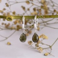 100% Natural Moldavite Earrings, Raw Moldavite , Authentic Moldavite, Sterling Silver Earrings , Certified Moldavite , Cut Stone Moldavite   Natural genuine Gemstone jewelry. Buy crystal jewelry, handmade handcrafted artisan jewelry for women.  Unique handmade gift ideas. #jewelry #beadedjewelry #beadedjewelry #gift #shopping #handmadejewelry #fashion #style #product #jewelry #affiliate #ad