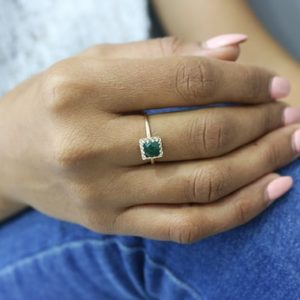 Green agate ring,agate jewelry,gold ring,square ring,custom ring,stack rings,stackable rings,unique rings,green ring   Natural genuine Agate rings, simple unique handcrafted gemstone rings. #rings #jewelry #shopping #gift #handmade #fashion #style #affiliate #ad