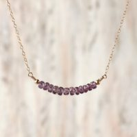 Alexandrite Gemstone Necklace June Birthstone Jewelry Color Change Stone Delicate Necklace Alexandrite Jewelry June Birthday Gifts For Her | Natural genuine Gemstone jewelry. Buy crystal jewelry, handmade handcrafted artisan jewelry for women.  Unique handmade gift ideas. #jewelry #beadedjewelry #beadedjewelry #gift #shopping #handmadejewelry #fashion #style #product #jewelry #affiliate #ad