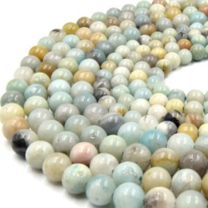 """Large Hole Amazonite Beads 