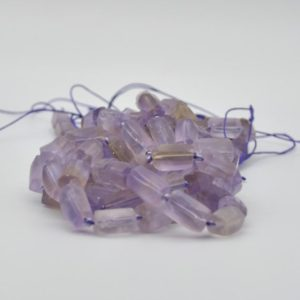 """Shop Ametrine Bead Shapes! High Quality Grade A Natural Ametrine Semi-precious Gemstone Frosted Matt Tube Beads – Approx 15.5"""" Strand   Natural genuine other-shape Ametrine beads for beading and jewelry making.  #jewelry #beads #beadedjewelry #diyjewelry #jewelrymaking #beadstore #beading #affiliate #ad"""