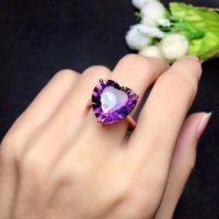 Ametrine Ring , 925 Sterling Silver Ring, Gemstone Ring, Ametrine Engagement Ring , Heart Ametrine Ring, Women Gift Ring, love Ring   Natural genuine Gemstone jewelry. Buy handcrafted artisan wedding jewelry.  Unique handmade bridal jewelry gift ideas. #jewelry #beadedjewelry #gift #crystaljewelry #shopping #handmadejewelry #wedding #bridal #jewelry #affiliate #ad