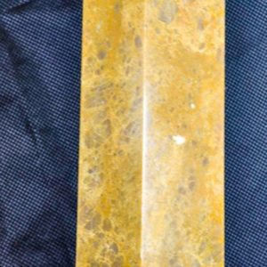 """Shop Aventurine Points & Wands! Yellow Aventurine Tower 10.3"""" weighs 4.91 Pounds   Natural genuine stones & crystals in various shapes & sizes. Buy raw cut, tumbled, or polished gemstones for making jewelry or crystal healing energy vibration raising reiki stones. #crystals #gemstones #crystalhealing #crystalsandgemstones #energyhealing #affiliate #ad"""