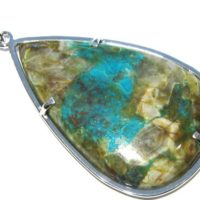 Azurite Pendant Silver 925% | Natural genuine Gemstone jewelry. Buy crystal jewelry, handmade handcrafted artisan jewelry for women.  Unique handmade gift ideas. #jewelry #beadedjewelry #beadedjewelry #gift #shopping #handmadejewelry #fashion #style #product #jewelry #affiliate #ad