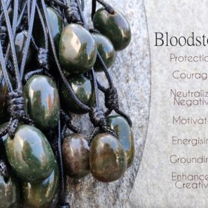 Shop Bloodstone Pendants! Bloodstone Pendant for Men & Women, Blood Stone Necklace, Protection Jewelry, Birthday Gifts for Friends, Simple Necklace   Natural genuine Bloodstone pendants. Buy handcrafted artisan men's jewelry, gifts for men.  Unique handmade mens fashion accessories. #jewelry #beadedpendants #beadedjewelry #shopping #gift #handmadejewelry #pendants #affiliate #ad