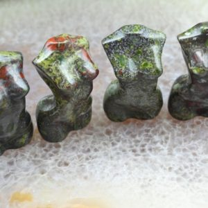 Shop Bloodstone Shapes! 2 Inches Dragon Bloodstone Goddess Model Decor, reiki Healing Decor, hand Carving Healing Decor, model Home Decor, model Gemstone Decor, for Gift | Natural genuine stones & crystals in various shapes & sizes. Buy raw cut, tumbled, or polished gemstones for making jewelry or crystal healing energy vibration raising reiki stones. #crystals #gemstones #crystalhealing #crystalsandgemstones #energyhealing #affiliate #ad