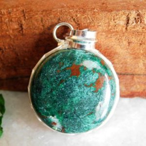 Shop Chrysocolla Pendants! Natural Chrysocolla Pendant, Sterling Silver Pendant, Chrysocolla Gemstone Pendant, Chrysocolla Jewelry Pendant, Gift Stone Pendant, p-493 | Natural genuine Chrysocolla pendants. Buy crystal jewelry, handmade handcrafted artisan jewelry for women.  Unique handmade gift ideas. #jewelry #beadedpendants #beadedjewelry #gift #shopping #handmadejewelry #fashion #style #product #pendants #affiliate #ad