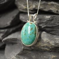 Oval Pendant, Chrysocolla Pendant, Blue Chrysocolla, Sagittarius Pendant, Unique Pendant, Blue Pendant, 925 Silver Pendant, Chrysocolla | Natural genuine Gemstone jewelry. Buy crystal jewelry, handmade handcrafted artisan jewelry for women.  Unique handmade gift ideas. #jewelry #beadedjewelry #beadedjewelry #gift #shopping #handmadejewelry #fashion #style #product #jewelry #affiliate #ad