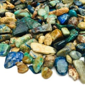 Shop Tumbled Chrysocolla Crystals & Pocket Stones! Chrysocolla Crystal (100g) Tumbled Chrysocolla Mini (xs) Polished Stone (green Blue) Natural Bulk Lot Gemstone   Natural genuine stones & crystals in various shapes & sizes. Buy raw cut, tumbled, or polished gemstones for making jewelry or crystal healing energy vibration raising reiki stones. #crystals #gemstones #crystalhealing #crystalsandgemstones #energyhealing #affiliate #ad