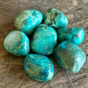 Shop Tumbled Chrysocolla Crystals & Pocket Stones! Medium Aa Quality Tumbled Chrysocolla Peru Peruvian Goddess Wise Woman Stone Clearing Divine Feminine Purpose Charged Free Ebook   Natural genuine stones & crystals in various shapes & sizes. Buy raw cut, tumbled, or polished gemstones for making jewelry or crystal healing energy vibration raising reiki stones. #crystals #gemstones #crystalhealing #crystalsandgemstones #energyhealing #affiliate #ad