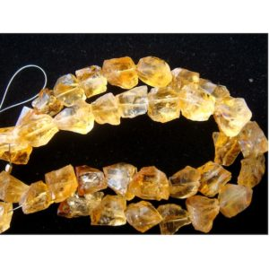 11-15mm Each Raw Citrine Crystal, Loose Raw Gemstone, Citrine Rough Nuggets, Polished Nuggets, 5 Pieces Approx – CRN1 | Natural genuine chip Gemstone beads for beading and jewelry making.  #jewelry #beads #beadedjewelry #diyjewelry #jewelrymaking #beadstore #beading #affiliate #ad