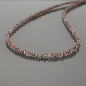 Shop Diamond Necklaces! 925 Silver Diamond Necklace, Beads Brown Diamond Necklace, Natural Diamond Necklace Champagne Diamond Beads Rough Diamond Beads Necklace   Natural genuine Diamond necklaces. Buy crystal jewelry, handmade handcrafted artisan jewelry for women.  Unique handmade gift ideas. #jewelry #beadednecklaces #beadedjewelry #gift #shopping #handmadejewelry #fashion #style #product #necklaces #affiliate #ad