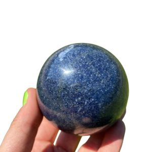 Shop Dumortierite Stones & Crystals! Dumortierite Stone Sphere – Dumortierite crystal sphere – dumortierite quartz crystal – dumortierite crystal – third eye chakra sphere 1   Natural genuine stones & crystals in various shapes & sizes. Buy raw cut, tumbled, or polished gemstones for making jewelry or crystal healing energy vibration raising reiki stones. #crystals #gemstones #crystalhealing #crystalsandgemstones #energyhealing #affiliate #ad