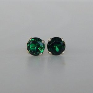 Shop Emerald Earrings! Emerald 3 or 4mm Studs ~ Emerald Stud Earrings ~ Emerald Earrings ~ Emerald Birthstone ~ Emerald Gemstone ~ May Birthstone Jewelry   Natural genuine Emerald earrings. Buy crystal jewelry, handmade handcrafted artisan jewelry for women.  Unique handmade gift ideas. #jewelry #beadedearrings #beadedjewelry #gift #shopping #handmadejewelry #fashion #style #product #earrings #affiliate #ad