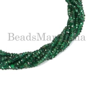 Shop Emerald Faceted Beads! Emerald Faceted Rondelle Shape Gemstone Beads, Emerald Faceted Beads, Emerald Rondelle Shape Beads, Emerald Beads, Emerald New Arrival Beads | Natural genuine faceted Emerald beads for beading and jewelry making.  #jewelry #beads #beadedjewelry #diyjewelry #jewelrymaking #beadstore #beading #affiliate #ad
