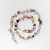 Fluorite, Fluorite Chip Necklace, Fluorite Crystal Jewellery   Natural genuine Gemstone jewelry. Buy crystal jewelry, handmade handcrafted artisan jewelry for women.  Unique handmade gift ideas. #jewelry #beadedjewelry #beadedjewelry #gift #shopping #handmadejewelry #fashion #style #product #jewelry #affiliate #ad
