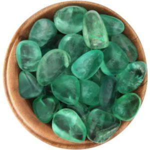 Shop Tumbled Fluorite Crystals & Pocket Stones! 1 GREEN FLUORITE – Ethically Sourced Crystal, 1 Inch Tumbled Stone, Pocket Stone | Natural genuine stones & crystals in various shapes & sizes. Buy raw cut, tumbled, or polished gemstones for making jewelry or crystal healing energy vibration raising reiki stones. #crystals #gemstones #crystalhealing #crystalsandgemstones #energyhealing #affiliate #ad