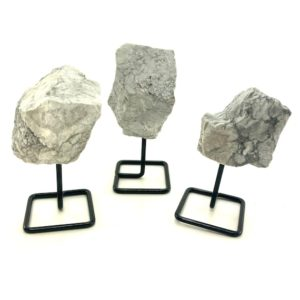 Shop Raw & Rough Howlite Stones! Howlite Stand, Rough Howlite on a stand, Howlite Specimen, Howlite on Metal Base   Natural genuine stones & crystals in various shapes & sizes. Buy raw cut, tumbled, or polished gemstones for making jewelry or crystal healing energy vibration raising reiki stones. #crystals #gemstones #crystalhealing #crystalsandgemstones #energyhealing #affiliate #ad
