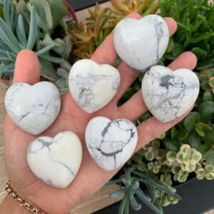 Shop Howlite Shapes! White Howlite Heart, White Howlite Hearts, Protection Stone, Healing Stone, Love Stone | Natural genuine stones & crystals in various shapes & sizes. Buy raw cut, tumbled, or polished gemstones for making jewelry or crystal healing energy vibration raising reiki stones. #crystals #gemstones #crystalhealing #crystalsandgemstones #energyhealing #affiliate #ad