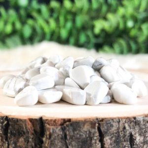 Shop Tumbled Howlite Crystals & Pocket Stones! Tumbled Howlite Chips – Howlite – Crown Chakra – White Stone – Loose Crystals – Raw Crystals – Loose Stones   Natural genuine stones & crystals in various shapes & sizes. Buy raw cut, tumbled, or polished gemstones for making jewelry or crystal healing energy vibration raising reiki stones. #crystals #gemstones #crystalhealing #crystalsandgemstones #energyhealing #affiliate #ad