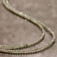 Jade Necklace Green Jade Beads Necklace Burmese Jade Double Layer Necklace Multi Strand Silver Jade Necklace Gift For Her Green Jade Jewelry | Natural genuine Gemstone jewelry. Buy crystal jewelry, handmade handcrafted artisan jewelry for women.  Unique handmade gift ideas. #jewelry #beadedjewelry #beadedjewelry #gift #shopping #handmadejewelry #fashion #style #product #jewelry #affiliate #ad