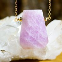 Kunzite Necklace – Kunzite Bar Necklace – Kunzite Jewelry – Crystal Necklace – Heart Charka Crystal Jewelry – Gift For Her – Pink Stone   Natural genuine Gemstone jewelry. Buy crystal jewelry, handmade handcrafted artisan jewelry for women.  Unique handmade gift ideas. #jewelry #beadedjewelry #beadedjewelry #gift #shopping #handmadejewelry #fashion #style #product #jewelry #affiliate #ad