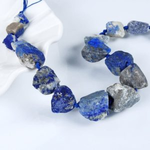 Shop Lapis Lazuli Bead Shapes! Lapis Lazuli Beads.Big Size lapis lazuli Beads.Natural lapis lazuli Beads.Center Drilled Beads.Matte Stone Beads. Jewelry Gemstone Beads.   Natural genuine other-shape Lapis Lazuli beads for beading and jewelry making.  #jewelry #beads #beadedjewelry #diyjewelry #jewelrymaking #beadstore #beading #affiliate #ad
