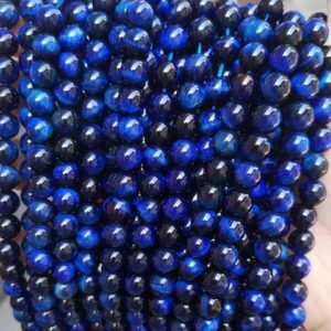 """Natural AAAA Green Gold Tigereye Smooth And Round Beads,4mm 6mm 8mm 10mm 12mm 14mm Lapis lazuli Tigereye beads,one strand 15"""" 