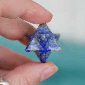 Shop Lapis Lazuli Stones & Crystals! Lapis Lazuli Crystal Merkaba 20mm | Natural genuine stones & crystals in various shapes & sizes. Buy raw cut, tumbled, or polished gemstones for making jewelry or crystal healing energy vibration raising reiki stones. #crystals #gemstones #crystalhealing #crystalsandgemstones #energyhealing #affiliate #ad