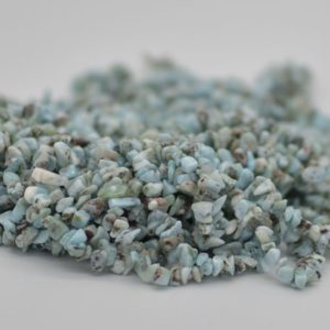 """Shop Larimar Chip & Nugget Beads! High Quality Grade A Natural Larimar Semi-precious Gemstone Chips Nuggets Beads – 5mm – 8mm, Approx 36"""" Strand   Natural genuine chip Larimar beads for beading and jewelry making.  #jewelry #beads #beadedjewelry #diyjewelry #jewelrymaking #beadstore #beading #affiliate #ad"""