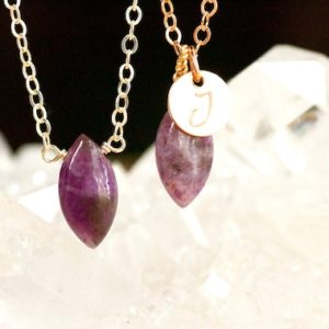 Shop Lepidolite Necklaces! Lepidolite Necklace – Healing Crystal Necklace | Natural genuine Lepidolite necklaces. Buy crystal jewelry, handmade handcrafted artisan jewelry for women.  Unique handmade gift ideas. #jewelry #beadednecklaces #beadedjewelry #gift #shopping #handmadejewelry #fashion #style #product #necklaces #affiliate #ad
