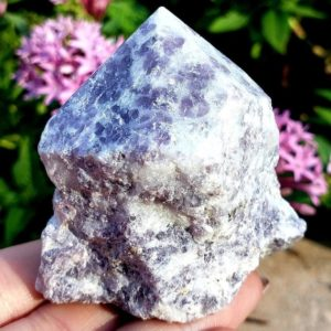 Shop Lepidolite Points & Wands! Lepidolite Rough Free Formed & semi Polished Standing Point Natural , Reiki , Metaphysical, Chakra, Crystal Healing Gemstone Specimen #1   Natural genuine stones & crystals in various shapes & sizes. Buy raw cut, tumbled, or polished gemstones for making jewelry or crystal healing energy vibration raising reiki stones. #crystals #gemstones #crystalhealing #crystalsandgemstones #energyhealing #affiliate #ad