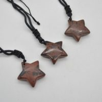 Natural Mahogany Obsidian Semi-precious Gemstone Star Pendant – 3cm – 1 Count | Natural genuine Gemstone jewelry. Buy crystal jewelry, handmade handcrafted artisan jewelry for women.  Unique handmade gift ideas. #jewelry #beadedjewelry #beadedjewelry #gift #shopping #handmadejewelry #fashion #style #product #jewelry #affiliate #ad