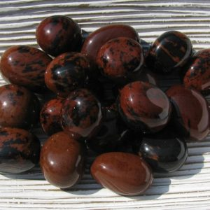 Shop Tumbled Mahogany Obsidian Crystals & Pocket Stones! Mahogany Obsidian – Obsidian – Tumbled Stones – Tumbled Obsidian – Obsidian Crystal – Prosperity Stone – Protection Stone – Grounding Stone   Natural genuine stones & crystals in various shapes & sizes. Buy raw cut, tumbled, or polished gemstones for making jewelry or crystal healing energy vibration raising reiki stones. #crystals #gemstones #crystalhealing #crystalsandgemstones #energyhealing #affiliate #ad