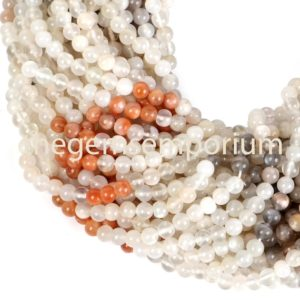 Shop Moonstone Round Beads! Multi Moonstone Plain Round Shape Beads, Multi Moonstone Gemstone Beads, Aaa Quality Beads, gemstone For Jewelry Making | Natural genuine round Moonstone beads for beading and jewelry making.  #jewelry #beads #beadedjewelry #diyjewelry #jewelrymaking #beadstore #beading #affiliate #ad