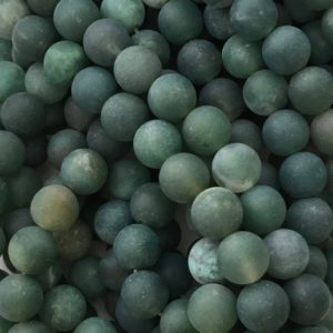 Green Moss Agate, Matte Beads, 8mm Beads, Frosted Beads, Green Beads, Agate Beads, Moss Agate Beads, Moss Agate, 6mm Beads, Gemstone Beads   Natural genuine beads Moss Agate beads for beading and jewelry making.  #jewelry #beads #beadedjewelry #diyjewelry #jewelrymaking #beadstore #beading #affiliate #ad