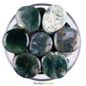 Shop Moss Agate Shapes! One 1 Moss Agate Smooth Stone, Moss Agate Palm Stone, Moss Agate Smooth Stones, Moss Agate Palm Stones, Moss Agate Smooth Stones, Moss Agate | Natural genuine stones & crystals in various shapes & sizes. Buy raw cut, tumbled, or polished gemstones for making jewelry or crystal healing energy vibration raising reiki stones. #crystals #gemstones #crystalhealing #crystalsandgemstones #energyhealing #affiliate #ad