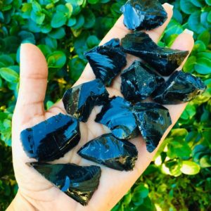 Obsidian – Raw Crystals (1) Raw Obsidian – Black Obsidian – Obsidian Crystal – Raw Crystal (one) Obsidian Raw Stone – Rough Obsidian Stone | Natural genuine stones & crystals in various shapes & sizes. Buy raw cut, tumbled, or polished gemstones for making jewelry or crystal healing energy vibration raising reiki stones. #crystals #gemstones #crystalhealing #crystalsandgemstones #energyhealing #affiliate #ad