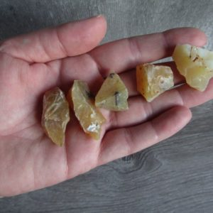 Shop Raw & Rough Opal Stones! Yellow Opal Raw Stone R2 | Natural genuine stones & crystals in various shapes & sizes. Buy raw cut, tumbled, or polished gemstones for making jewelry or crystal healing energy vibration raising reiki stones. #crystals #gemstones #crystalhealing #crystalsandgemstones #energyhealing #affiliate #ad