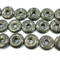 Pyrite Donuts Beads – Gemstone Donut Pendants – Circle Gesmtone Beads – Donuts Necklace Beads – Jewelry Making Donut Pendant -15inch | Natural genuine Gemstone jewelry. Buy crystal jewelry, handmade handcrafted artisan jewelry for women.  Unique handmade gift ideas. #jewelry #beadedjewelry #beadedjewelry #gift #shopping #handmadejewelry #fashion #style #product #jewelry #affiliate #ad