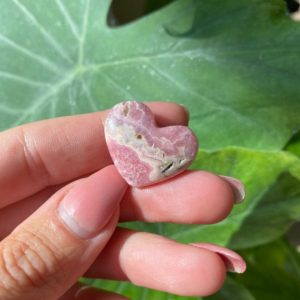 Shop Rhodochrosite Shapes! Rhodochrosite heart, Argentina   Natural genuine stones & crystals in various shapes & sizes. Buy raw cut, tumbled, or polished gemstones for making jewelry or crystal healing energy vibration raising reiki stones. #crystals #gemstones #crystalhealing #crystalsandgemstones #energyhealing #affiliate #ad
