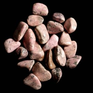 Shop Tumbled Rhodonite Crystals & Pocket Stones! Russian Rhodonite Tumbled | Natural genuine stones & crystals in various shapes & sizes. Buy raw cut, tumbled, or polished gemstones for making jewelry or crystal healing energy vibration raising reiki stones. #crystals #gemstones #crystalhealing #crystalsandgemstones #energyhealing #affiliate #ad