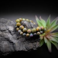 10mm, 8mm Natural Ruby In Fuschite Smooth Beaded Bracelet Custom Sizes | Natural genuine Gemstone jewelry. Buy crystal jewelry, handmade handcrafted artisan jewelry for women.  Unique handmade gift ideas. #jewelry #beadedjewelry #beadedjewelry #gift #shopping #handmadejewelry #fashion #style #product #jewelry #affiliate #ad