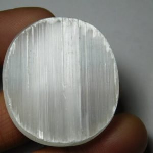 Shop Selenite Cabochons! Classic!! Natural Druzy Selenite Cabochons,Druzy Selenite Gemstone,Druzy Selenite  Loose Stone,Druzy Selenite Semi Precious  75Cts.39X35MM | Natural genuine stones & crystals in various shapes & sizes. Buy raw cut, tumbled, or polished gemstones for making jewelry or crystal healing energy vibration raising reiki stones. #crystals #gemstones #crystalhealing #crystalsandgemstones #energyhealing #affiliate #ad