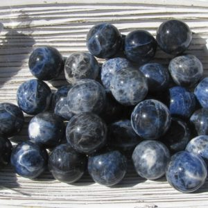 Shop Sodalite Shapes! Sodalite Sphere – Sodalite – Sphere – Blue Sodalite – Crystal Sphere – Sodalite Stone – Third Eye Chakra – Calming Stone – Balancing Stone | Natural genuine stones & crystals in various shapes & sizes. Buy raw cut, tumbled, or polished gemstones for making jewelry or crystal healing energy vibration raising reiki stones. #crystals #gemstones #crystalhealing #crystalsandgemstones #energyhealing #affiliate #ad