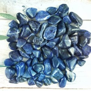 Shop Sodalite Stones & Crystals! Sodalite Tumbled Stones, Reiki Infused Wire Wrapping Spiritual Stones | Natural genuine stones & crystals in various shapes & sizes. Buy raw cut, tumbled, or polished gemstones for making jewelry or crystal healing energy vibration raising reiki stones. #crystals #gemstones #crystalhealing #crystalsandgemstones #energyhealing #affiliate #ad